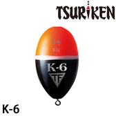 漁拓釣具 釣研 K-6 紅 #00 #G2 #B (阿波)