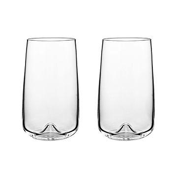 丹麥 Normann Copenhagen Long Drink Glasses 450cc 高玻璃水杯 / 啤酒杯 兩件組