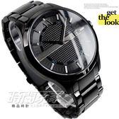 A|X 公司貨 IP黑電鍍 不銹鋼 黑面 47mm 男錶 時間玩家 ARMANI EXCHANGE AX2104