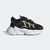 Adidas Ozweego EL I [EE8293] 小童鞋 運動 休閒 輕量 保護 舒適 透氣 愛迪達 黑