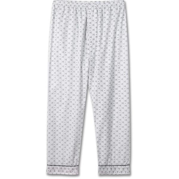 睡褲 春夏季家居褲薄款空調男士長褲中老年加肥加大胖子全棉純棉睡褲 歐歐