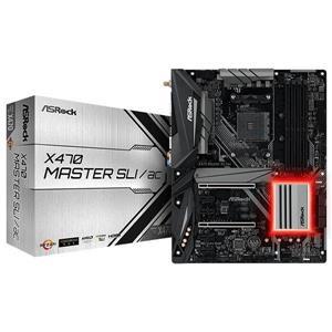 【綠蔭-免運】華擎 ASRock X470 MASTER SLI/AC AMD 主機板