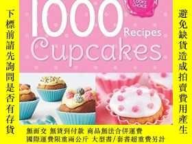 二手書博民逛書店Cupcakes罕見1000 Recipes Collectio