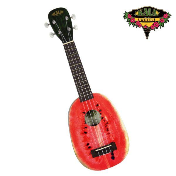 【烏克麗麗】21吋【美國Kala KA-WTML】 【西瓜造型】【Watermelon Soprano】【Ukulele 附琴袋】