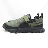 Timberland 防潑水 休閒鞋 A2CN9 男款 軍綠x黑【iSport愛運動】