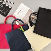 蘋果簡約商務手提包13.3/14寸15.6聯想男女小米公文筆記本電腦包  巴黎街頭