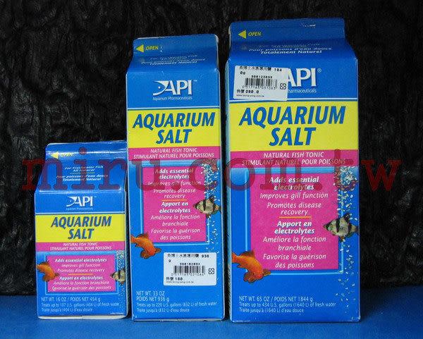 【西高地水族坊】美國魚博士API 水族專用粗鹽(AQUARIUM SALT)(936g)