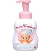 日本製【Cow牛乳石鹼】裘比寶寶泡泡澡洗髮精400ml