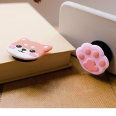 《ZB0745》可愛狗狗貓掌手機支架 OrangeBear