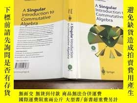 二手書博民逛書店A罕見Singular Introduction to Comm
