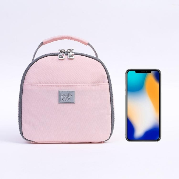 飯盒袋子保溫便當手提包餐小號包裝兒童上班韓國清新女的可愛日式 潮流衣館