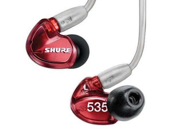 Shure SE535LTD (SE535 LTD) 紅色特別版 耳道耳機 [公司貨]