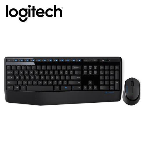 Logitech 羅技 MK345 無線鍵盤滑鼠組【贈手機指環】