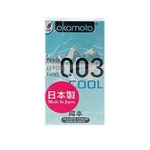 日本 okamoto 岡本 003衛生套(Cool極薄)6入【小三美日】保險套