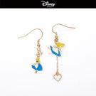 【迪士尼系列】愛麗絲不對稱垂吊耳環~夏綠蒂didi-shop