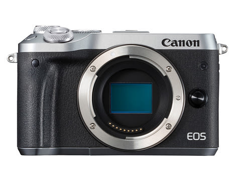 Canon EOS M6 Body 銀色〔單機身〕平行輸入