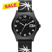Marc by Marc Jacobs Jimmy 熱帶棕櫚時尚腕錶-黑/42mm MBM5088