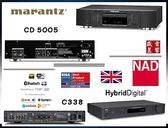 『 盛昱音響 』NAD C338 無線串流擴大機 / Marantz CD5005 CD播放機