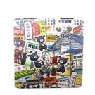 【收藏天地】台灣紀念品*雙面隨身鏡-士林夜市∕小物 送禮 文創 風景 觀光  禮品