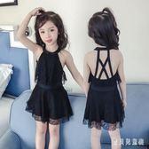 女童連體泳衣 公主裙式小童女孩寶寶中大童學生 BT6150『寶貝兒童裝』