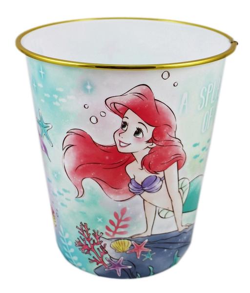 【卡漫城】 小美人魚 垃圾桶 約23cm ㊣版 日版 mermaid 辦公室 Ariel 房間 愛麗兒 垃圾筒 迪士尼
