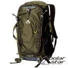 【PolarStar】透氣登山背包 45L『軍綠』P20802 露營.戶外.旅遊.多隔間.登山背包.後背包.肩背包
