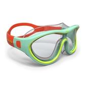 迪卡儂游泳眼鏡女高清防霧裝備男大框防水泳鏡兒童潛水裝備nabz