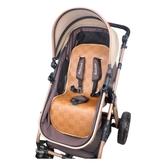 嬰兒車涼蓆墊推車通用透氣坐墊寶寶手推車冰絲藤蓆bb童車蓆子  ATF  魔法鞋櫃