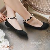 襪子 繫踝珍珠短襪隱形襪-Ruby s 露比午茶