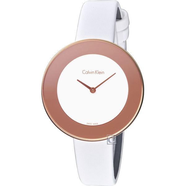 Calvin Klein Chic 優美無暇時尚腕錶 K7N236K2
