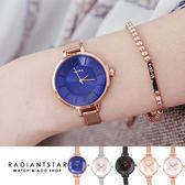 韓國WEIYA回憶中的曲調金屬米蘭鍊帶手錶【WWY1358 】璀璨之星☆