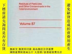 二手書博民逛書店Residue罕見Reviews (Volume 87, 198