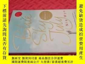 二手書博民逛書店【英文原版】Blue罕見Sky July( 如圖)Y25633 Nia Wyn Penguin 出版2008