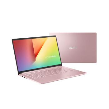 華碩 VivoBook S14 (S403FA-0252C10510U)14吋高續航筆電(玫瑰金)【Intel i7-10510U / 8GB / 512G M.2 / W10】