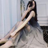 中長款減齡連身裙 大碼春夏裝套裝裙