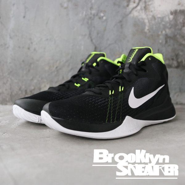 Nike Zoom Evidence 黑 螢光綠 男生 籃球鞋(布魯克林)2018/12月 852464-006
