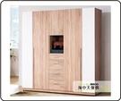 {{ 海中天休閒傢俱廣場 }} G-41 摩登時尚 衣櫥系列 A96-06 貝莉6.4尺組合衣櫥