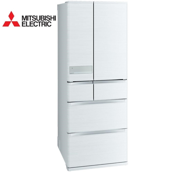 【南紡購物中心】MITSUBISHI 三菱605公升日本原裝變頻六門電冰箱MR-JX61C絹絲白(W)