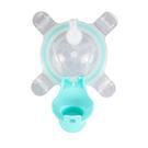 美國 Kangovou 小袋鼠不鏽鋼安全兒童兩用杯替換上蓋+吸管-薄荷綠