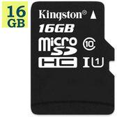 KINGSTON 16GB 16G microSDHC【80MB/s】Canvas Select microSD SDHC SD UHS C10 金士頓  SDCS/16G 手機記憶卡