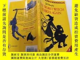 二手書博民逛書店the罕見worst witch strikes again:最壞的女巫又來了.Y200392