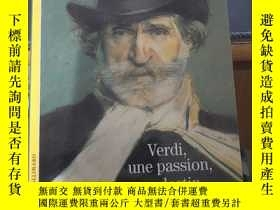 二手書博民逛書店法文原版罕見verdi,une passion,un desti