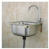 304不銹鋼水槽大小單槽 帶支撐架子套餐 洗菜盆洗碗池洗手盆  ATF  全館鉅惠