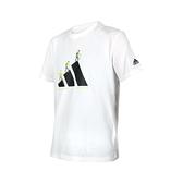 ADIDAS 男短袖T恤(亞規 純棉 慢跑 路跑 休閒 上衣 愛迪達≡體院≡ GN7321