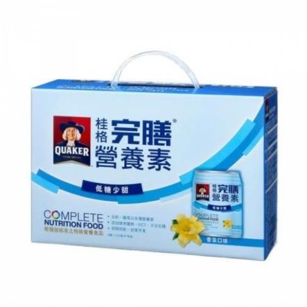 桂格完膳營養素(香草-低糖少甜) 250ml*8罐 禮盒 *維康