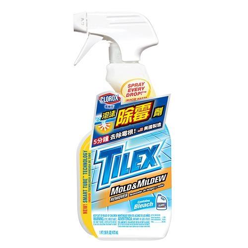 CLOROX高樂氏浴室除霉清潔泡沫噴劑-473ml【愛買】