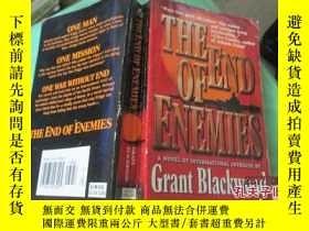二手書博民逛書店THE罕見END OF ENEMIES敵人的終結 37-4Y20079