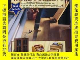 二手書博民逛書店The罕見Complete Book of WOODWORKIN