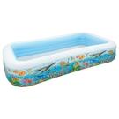 【美國 INTEX】戲水系列-海底世界長方型游泳池 58485