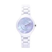 【Relax Time】超薄簡約時尚陶瓷腕錶-貝殼紫(小)/RT-33-10L/台灣總代理公司貨享一年保固